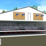 Ventilation et Filtration Green Tech Concept - Vue en coupe