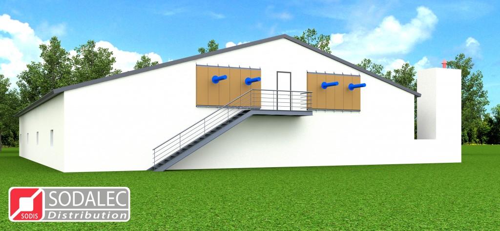 Ventilation et Filtration Green Tech Concept - Vue extérieure